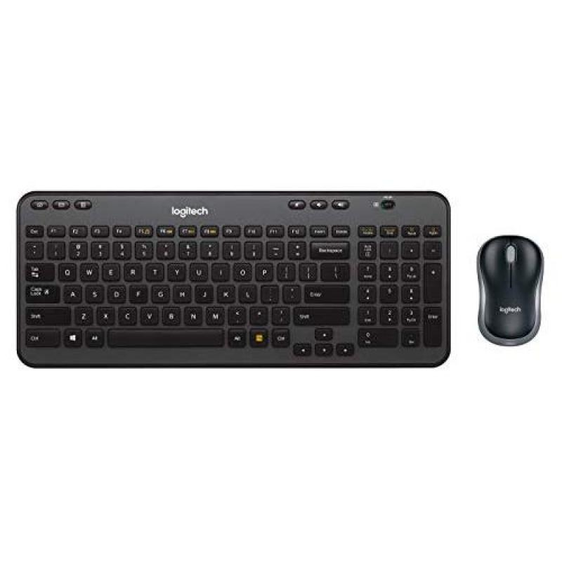 Logitech Wireless Combo MK360 – Includes Keyboard with 12 Programmable Keys and Wireless Mouse, Compact Package Perfect for Travel, 3-Year Battery Life Singapore