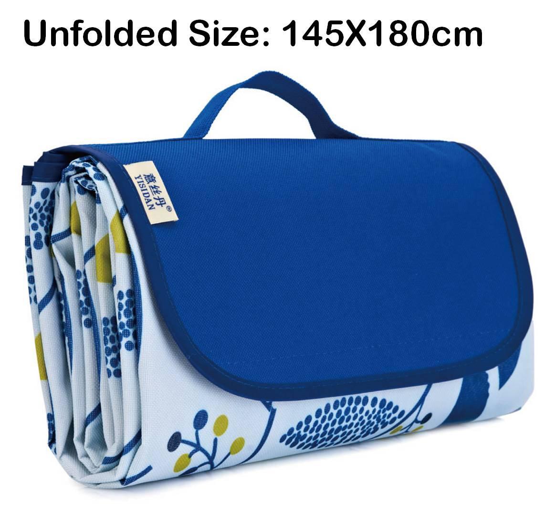 Picnic Mat / Blanket Beach Outdoor Waterproof Garden Folding Travel Largest In Market 180X145cm