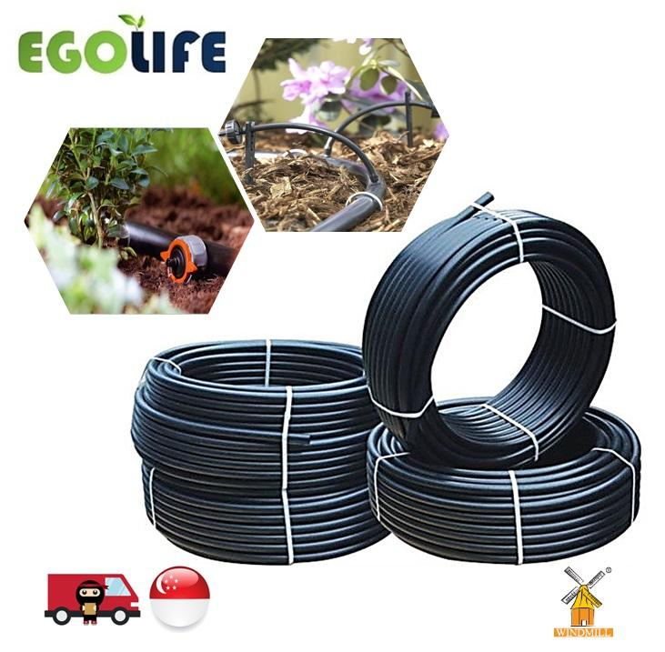 200meter LDPE Poly Pipe Polypipe BLACK 20mm (OD) /17mm (ID) for Irrigation System, Windmill Brand, Tubing Hose, PE Pipe