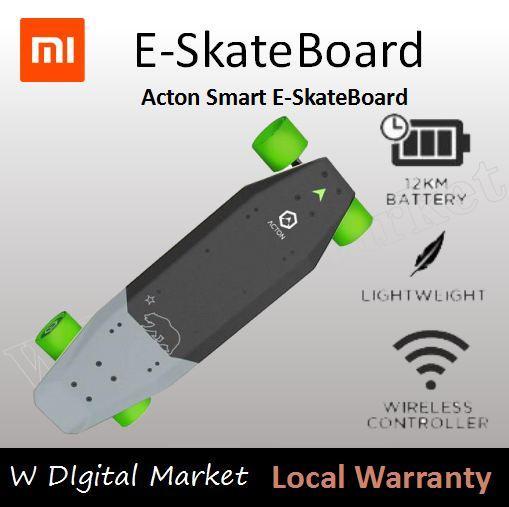 Xiaomi Acton Smart E-Skateboard By M Home Living.