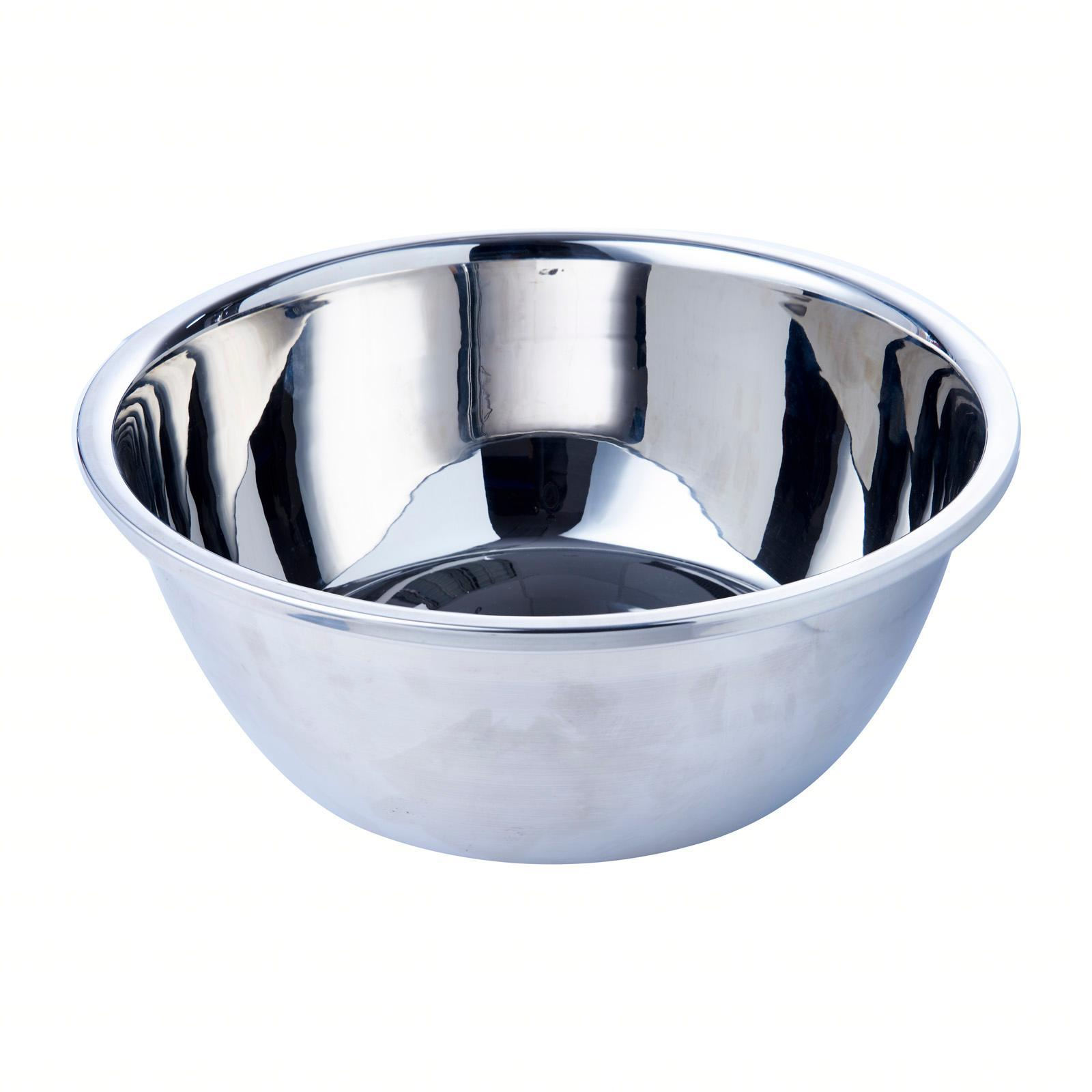 Jin Qi Lin Stainless Steel Salad Bowl (32 CM)