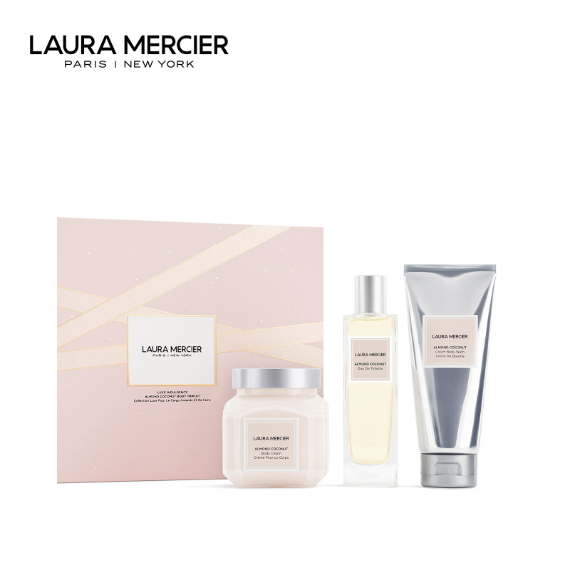 Buy [Holiday Sets] Laura Mercier Luxe Indulgence Almond Coconut Body Triplet Singapore