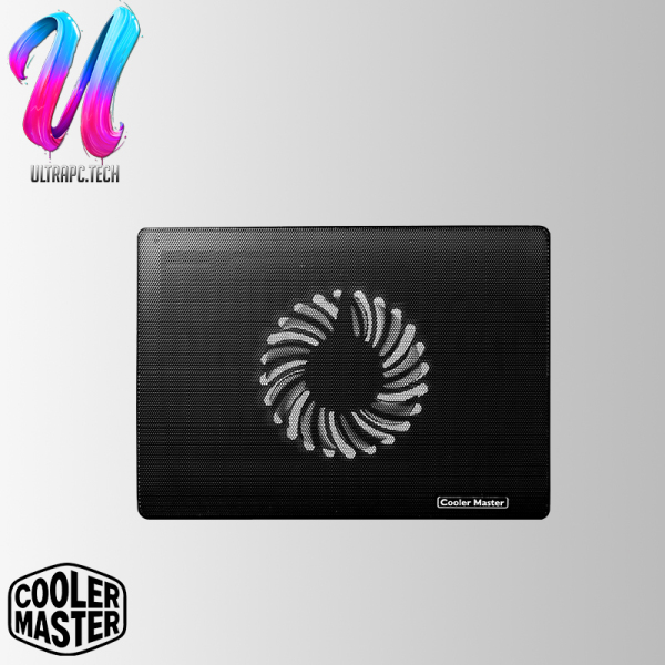 """Cooler Master Notepal I100 Notebook Cooler, Slim & Lightweight, 140mm Fan, 2 Height Settings, Full Mesh Board, Up to 15.6"""" Notebooks-R9-NBC-I1Hk-GP(2Y)"""