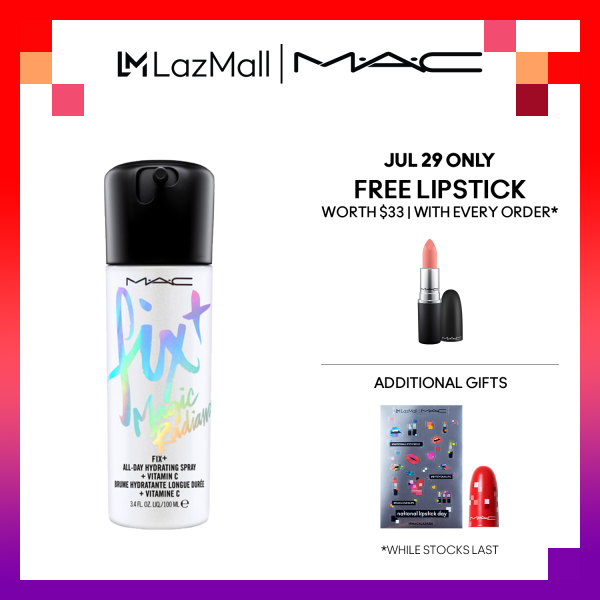 Buy MAC Fix+ Magic Radiance - Moisturizing Skin Mist 100ml Singapore