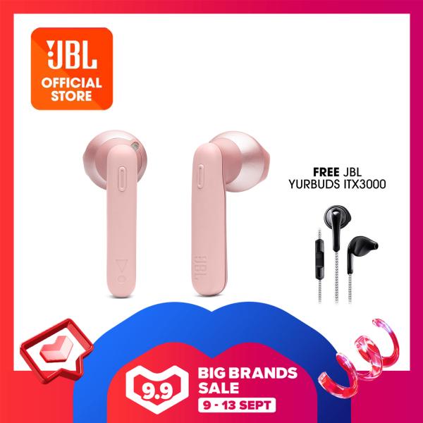 JBL Tune 220TWS Wireless Earbuds + JBL Yurbuds ITX3000 Singapore