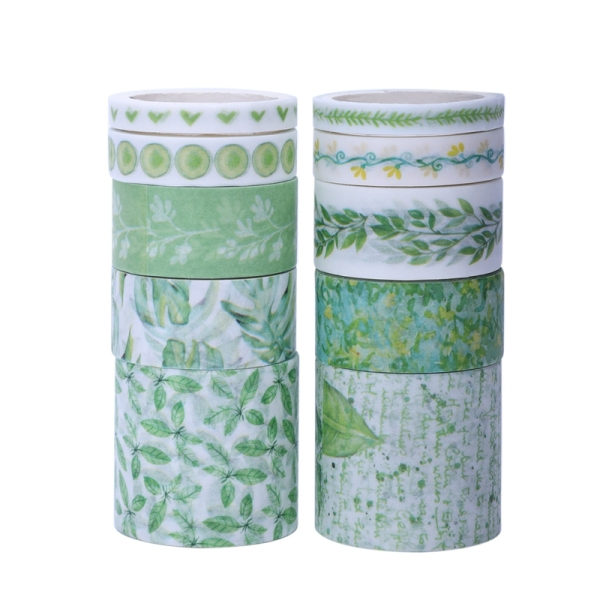 Mua 10Pcs/Lot Cute Masking Washi Tape Set Stationery Kawaii Scrapbooking Supplies Sticker Tree Greenery