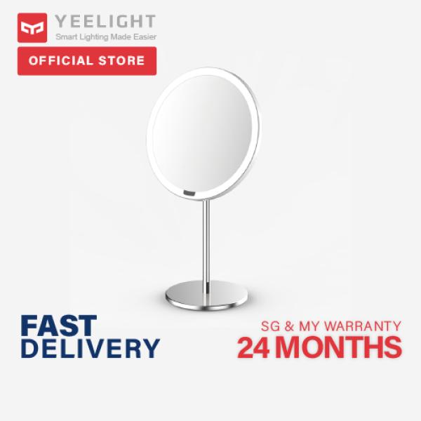 Yeelight Sensor Makeup Mirror, USB Rechargeable Motion Sensor Dimmable 3 Lighting Colours Eye Protection Night Light for Dresser Table