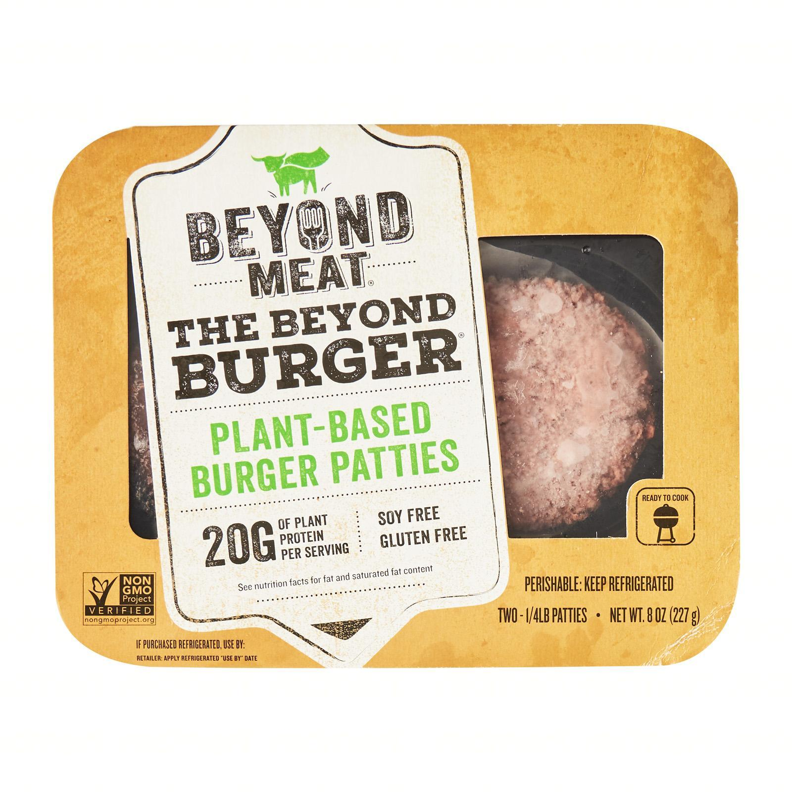Beyond Meat Beyond Burger Plant Based Meat - Frozen