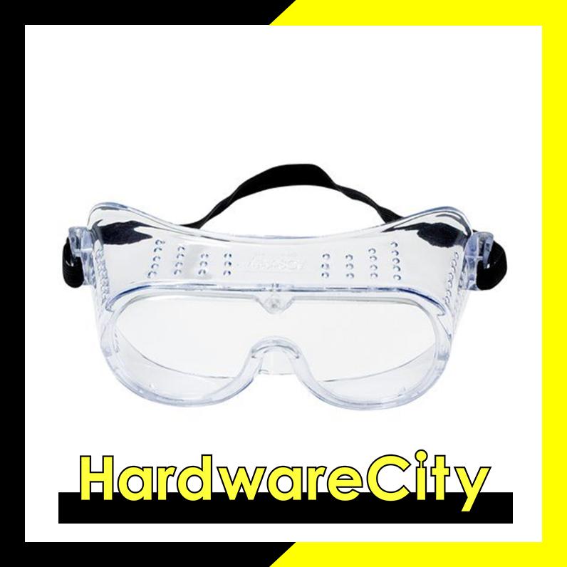 3M 332 Impact Safety Goggles Anti-Fog 40651-00000-10 Clear Anti Fog Lens  [40651-00000-10]