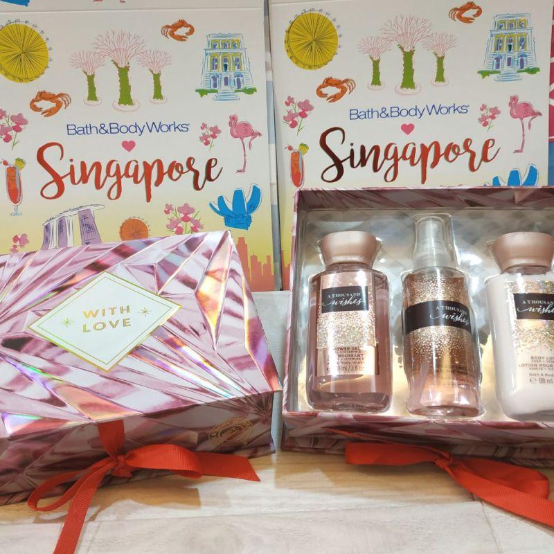 Buy Christmas birthday gift Bath and body works gift value set Singapore