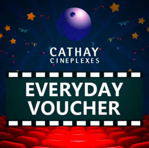 [READY] Cathay Movie Ticket (Everyday)