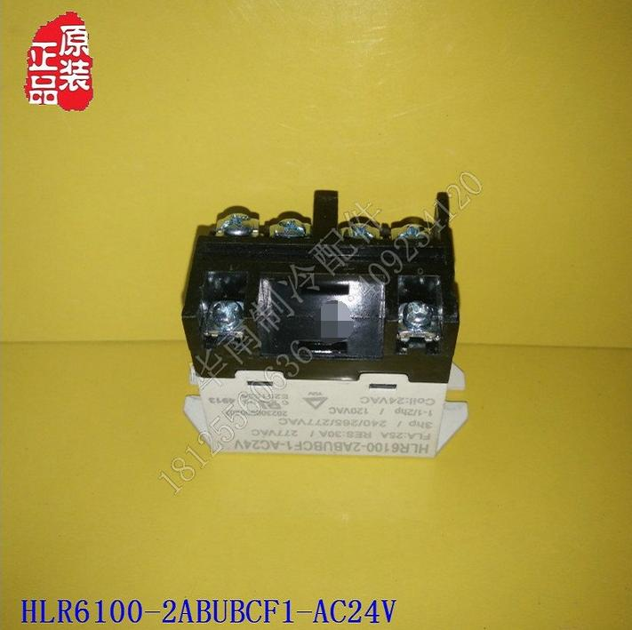 Disassemble Air Conditioning Parts Freezer Box Compressor Protection Relay  HLR6100-2ABUBCF1-AC24V