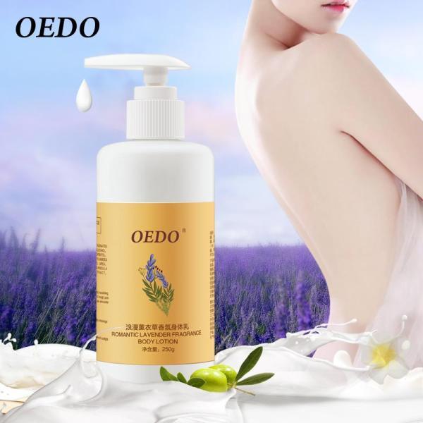 Buy OEDO Lavender Body Lotion Moisturizing Anti-aging Body Creams Repair Skin Care Anti-chapping whitening Nourishing Antibacterial Singapore