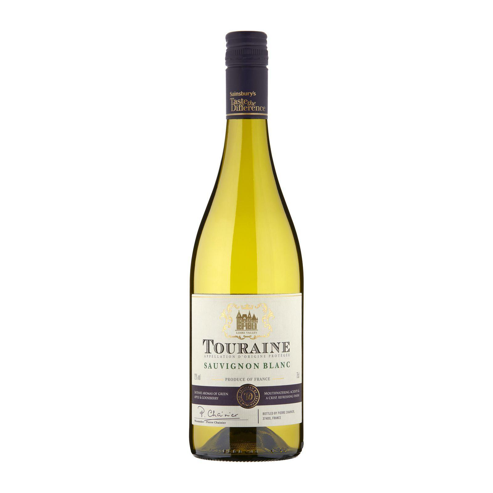 Sainsbury's Taste The Difference Touraine Sauvignon Blanc White Wine