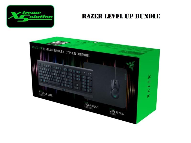 Razer Level Up Gaming Bundle with Keyboard, Mouse & Mousepad Singapore