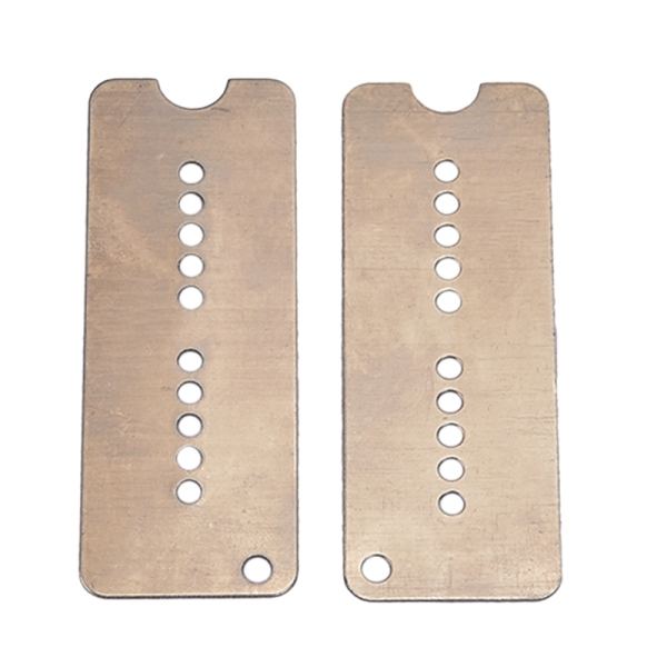 2Pcs Guitar Neck Bridge Pickup Base Plate Humbucker Pickup Baseplate Electric Guitar Replacement Parts