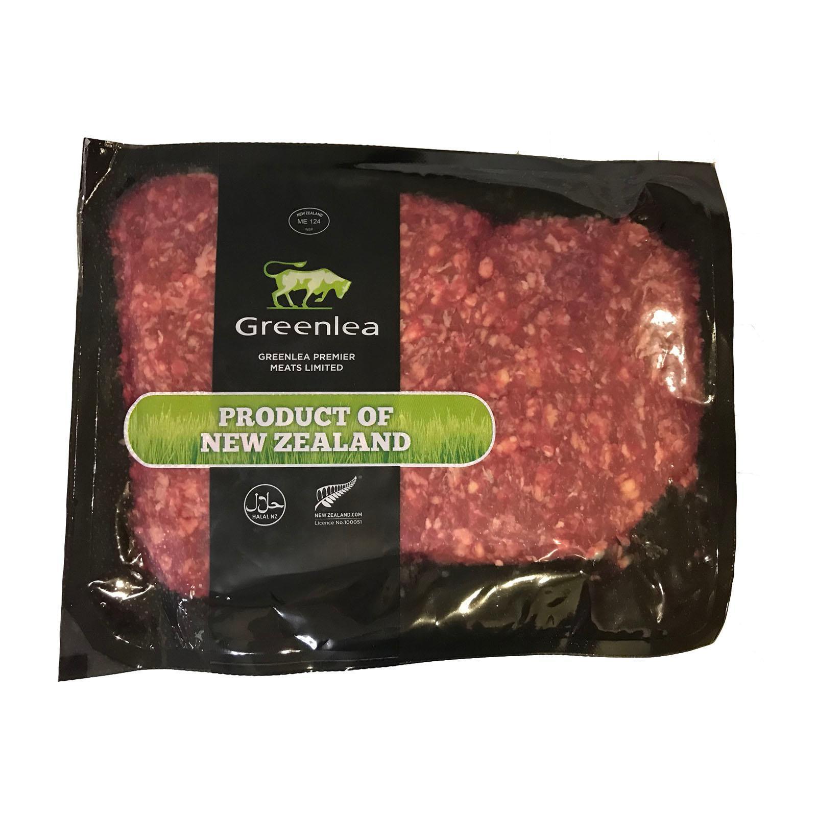 Greenlea Grass Fed Beef Mince - New Zealand