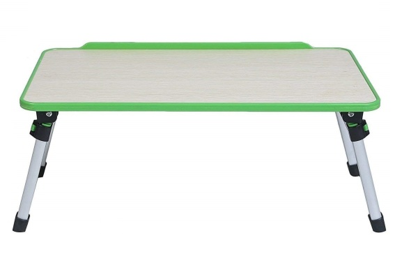 Foldable Bed Table, Compact Light Weight Movable Portable Small Size Laptop/Stand/Desk - LP006