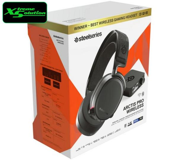 SteelSeries Arctis Pro Wireless (Black / White)