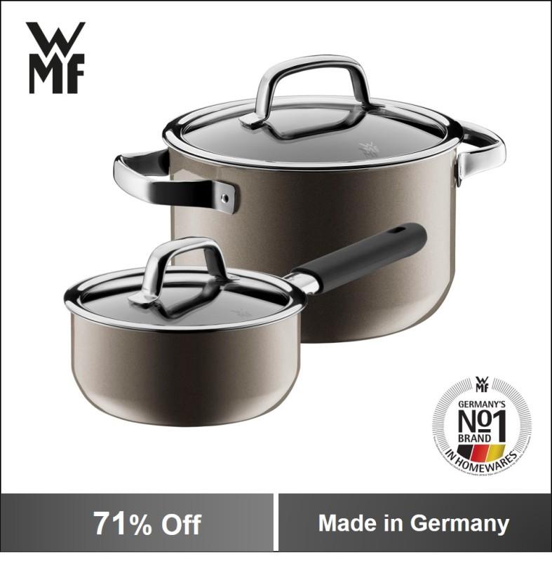 WMF Fusiontec 2PC Cookware Set Dark Brass Singapore