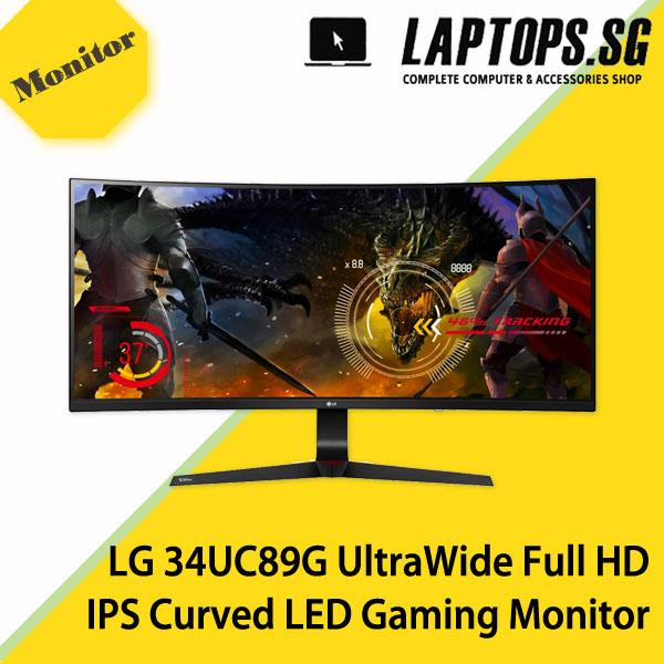 LG 34UC89G UltraWide Full HD IPS Curved LED Gaming Monitor