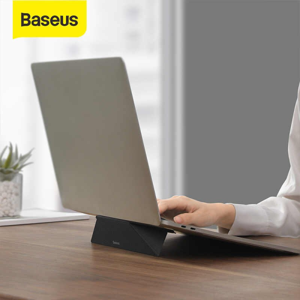 Baseus Ultra Thin Foldable Laptop Stand Holder for MacBook Notebook Laptops