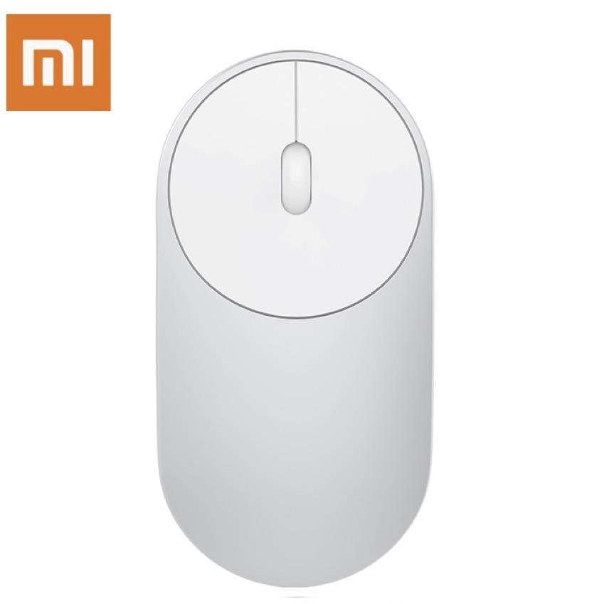 685bb19bb0f Original Xiaomi Mi Wireless Mouse Portable Game Mouses Aluminium Alloy ABS  Material 2.4GHz WiFi Bluetooth