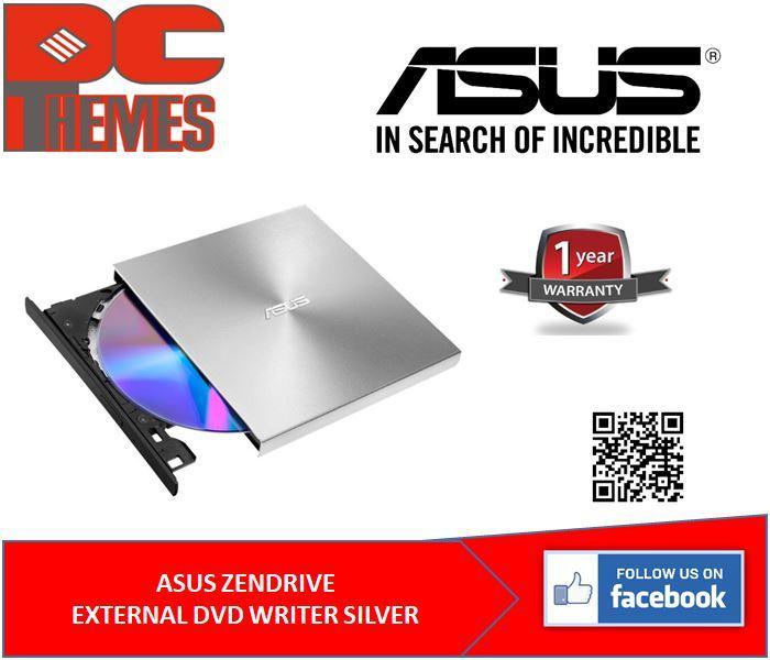 ASUS ZENDRIVE EXTERNAL DVD DRIVE SILVER