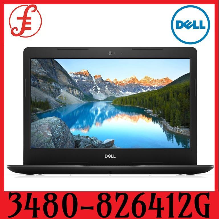 DELL 3480-826412G W10-BLK 14 IN INTEL CORE I5-8265U 4GB 1TB HDD WIN 10 (3480-826412G)