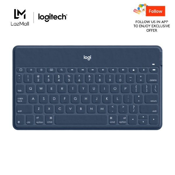 Logitech Keys to Go Portable Wireless Keyboard for iOS Devices (iPhone, iPad, and Apple TV) Singapore