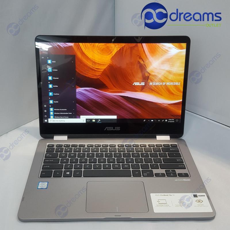 ASUS VIVOBOOK FLIP TP401CA-EC030T m3-7Y30/8GB/128GB eMMC [Premium Refreshed]