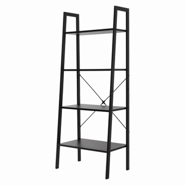 Brand NEW/in stock/Industrial Ladder Shelf 4 layer/ Bookshelf Vintage 4-Tier Bookcase Wood Display