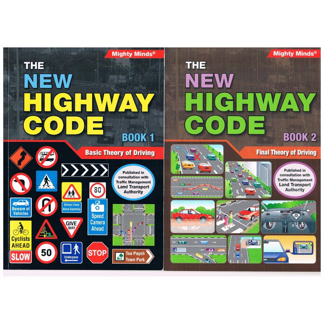 NEW HIGHWAY CODE BOOK 1 & 2 (2020 APPROVED)
