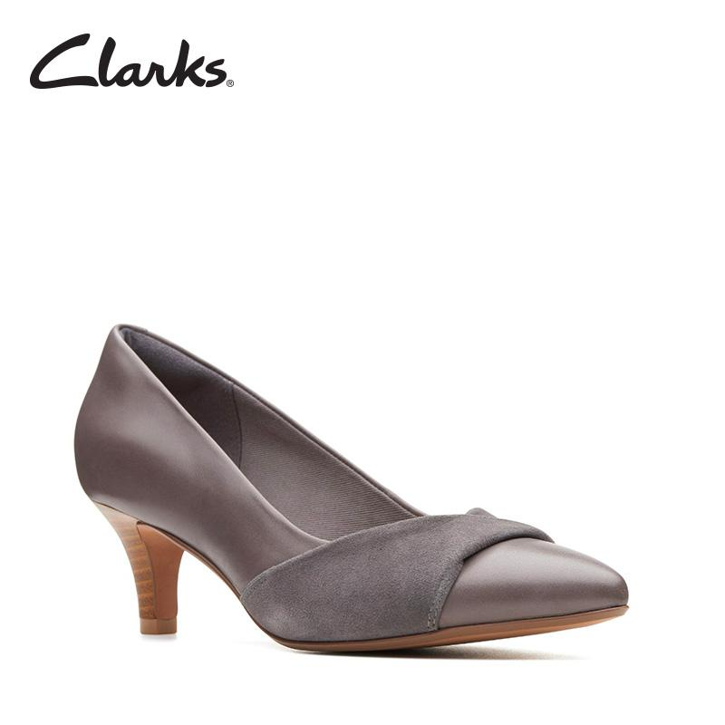 Clarks Linvale Vena Grey Combi Womens Dress Shoes Clarks Collection By Clarks Official Store.