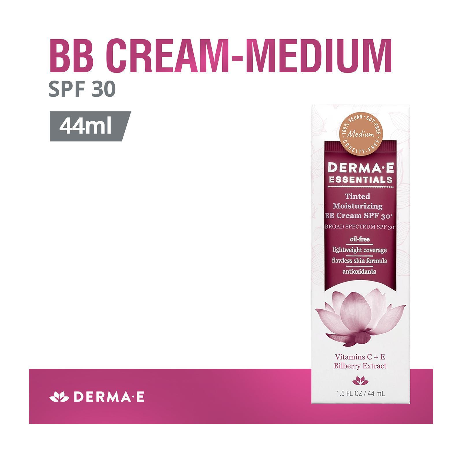 Derma E Medium-Tinted Moisturizing BB Cream SPF 30+