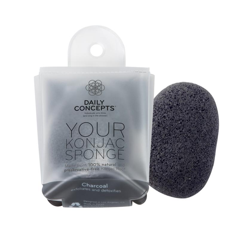 Buy Your Konjac Sponge -Charcoal Singapore