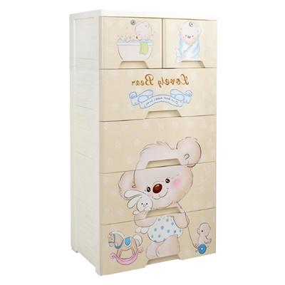 JIJI Love Bear Storage Drawer Cabinet [XL] - Storage Drawer / Household / Bedroom Furniture (SG)