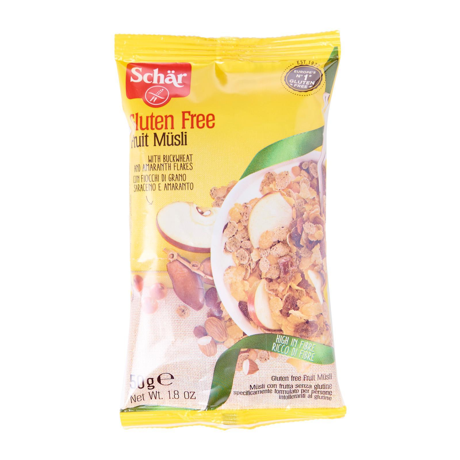 Dr. Schar Fruit Muesli Single Serve - Gluten Free by Agora Products