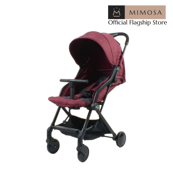 Mimosa Globetrotter+ Travel Lightweight Stroller - Mimosa Maroon (from birth) Singapore
