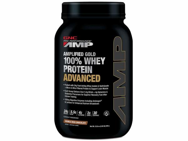 Buy Pro Performance® AMP Amplified Gold 100% Whey Protein Advanced 2.05 lbs - Double Rich Chocolate Singapore