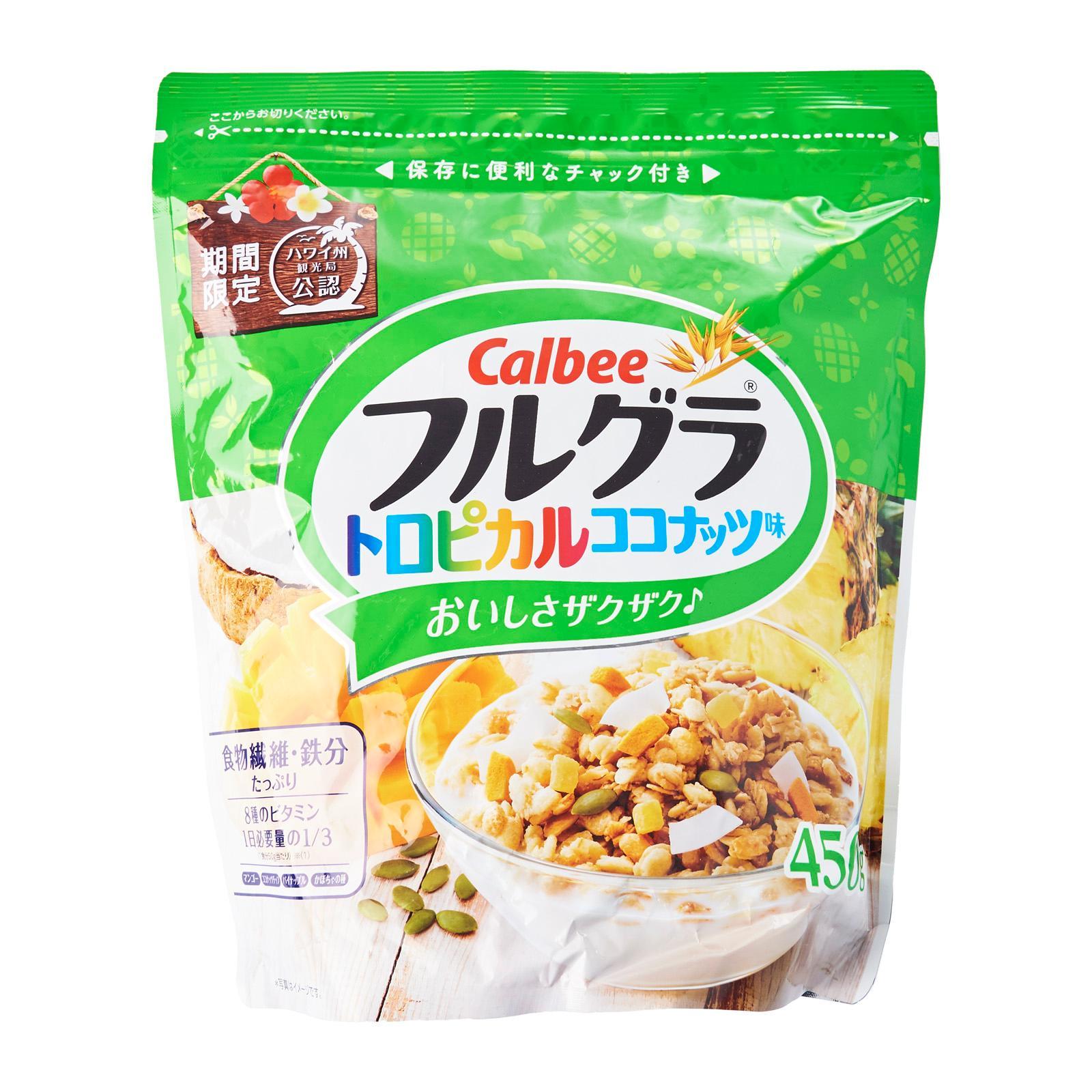 Calbee Tropical Coconut Flavour Granola