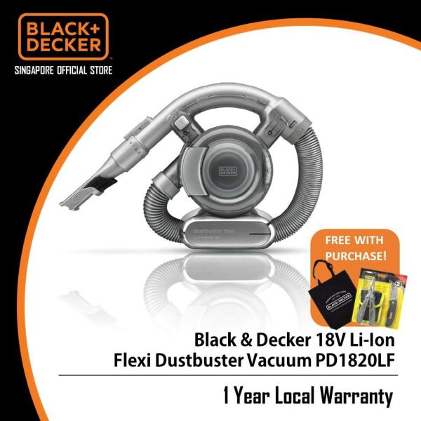 Black & Decker 18V Li-lon Flexi Dustbuster Vacuum PD1820LF Singapore