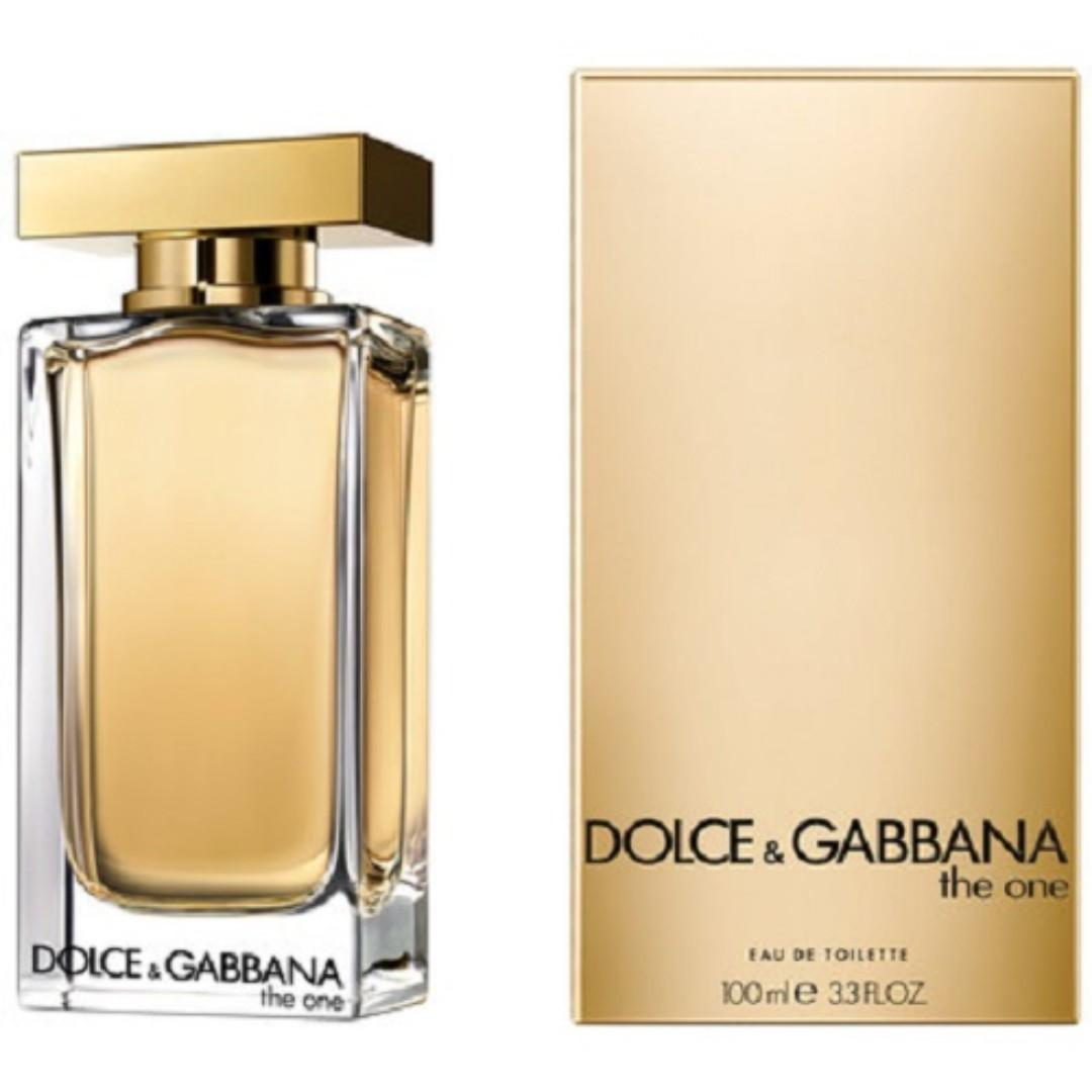 f1c4a33b902 DOLCE AND GABBANA The ONE EDT 100ml