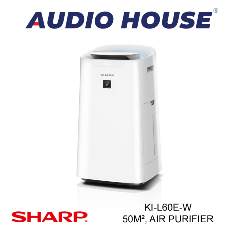 SHARP KI-L60E-W  50m², PLASMACLUSTER AIR PURIFIER W HUMIDIFYING FUNCTION ***1 YEAR SHARP WARRANTY*** Singapore