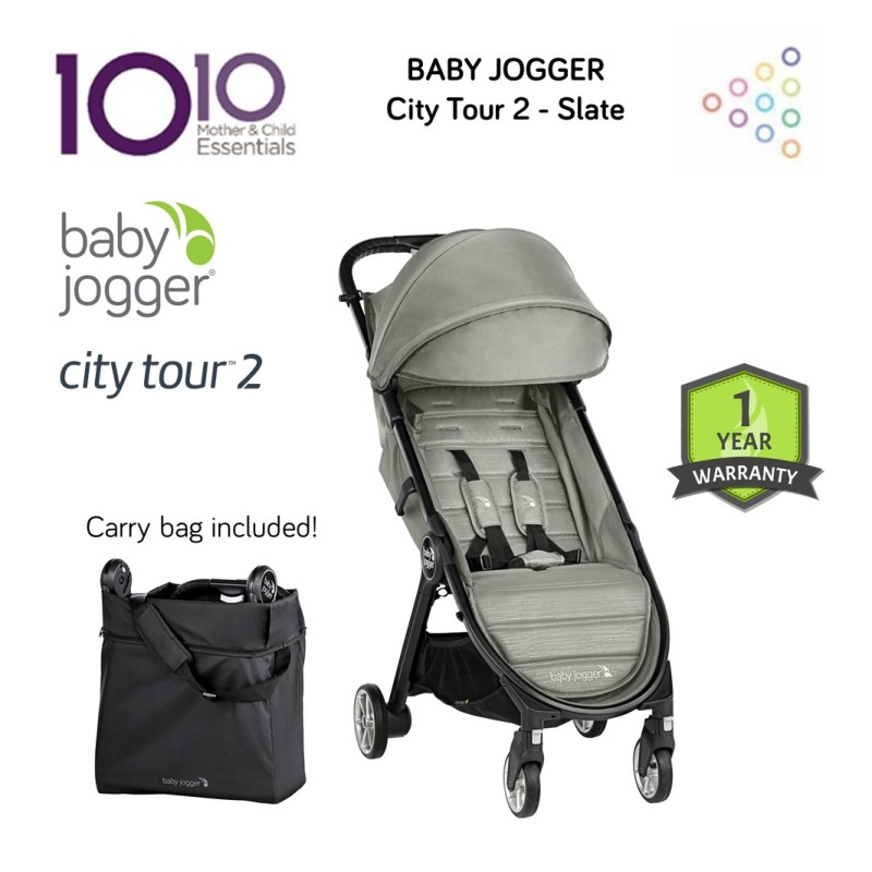 NEW LAUNCH Baby Jogger City Tour 2 - Slate Singapore