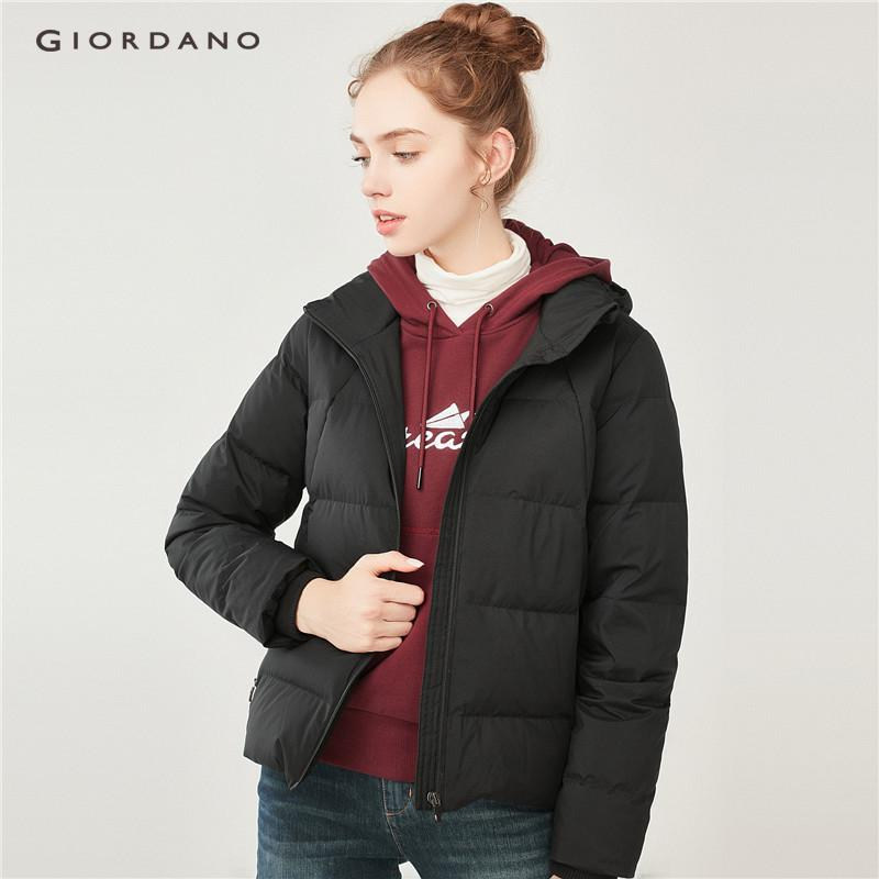 Giordano Women Detachable Hood Down Jacket [free Shipping] 05378703 By Giordano Official.