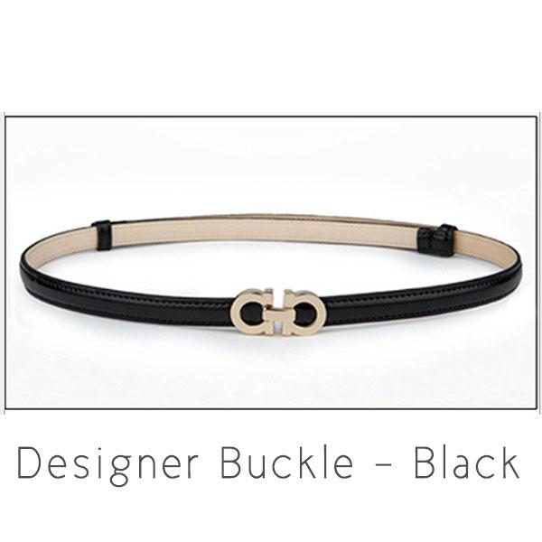 c5113d18b83 [Designer Series] Adjustable Female Women Leather Strap Waist Belts  Waistband with Alloy Buckle Great