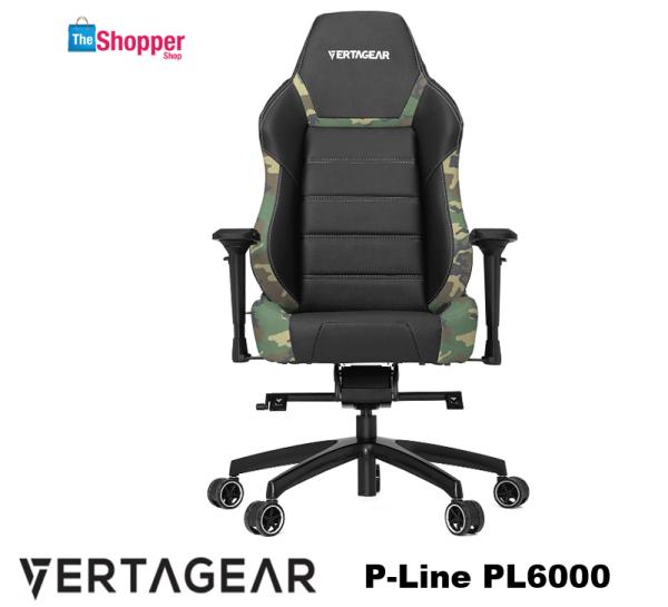 Vertagear Racing Series P-Line PL6000 Gaming Chair Black/White Edition