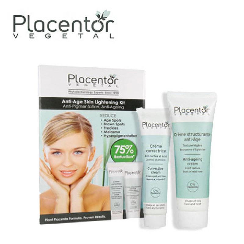 Buy Placentor Vegetal Anti-aging Skin Lightening Kit Singapore