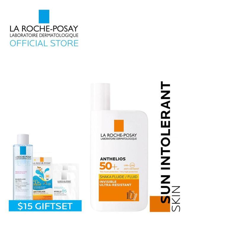 Buy [11.11 Exclusive - 2AM onwards] La Roche-Posay Anthelios Shaka Fluid SPF 50+ Waterproof Sunscreen Singapore